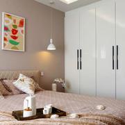 两室一厅简约风格卧室衣柜装饰