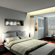后现代风格老房卧室翻新