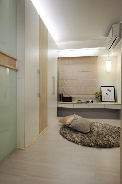 简约单身小公寓装修效果图