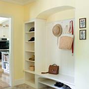 欧式简约风格开放式鞋柜