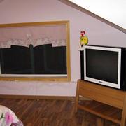 简约风格跃层卧室电视柜装饰