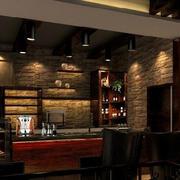 咖啡厅简约风格射灯装饰