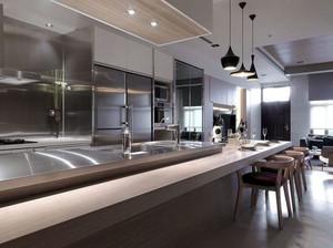 现代都市流行的简约厨房装修效果图