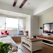 现代家装电视背景墙装饰