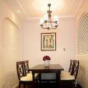 两室一厅餐厅装饰