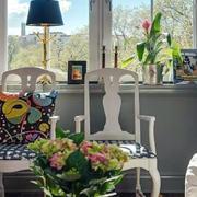 三室两厅客厅窗户装饰