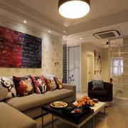 小户型公寓客厅效果图