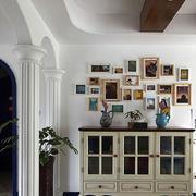 美式简约风格照片墙装修