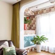 120平米房屋卧室效果图