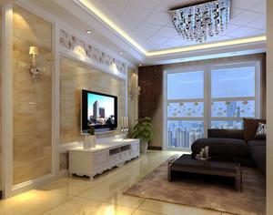 欧式客厅室内门装饰
