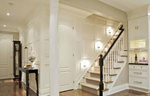 好看又实用的实木楼梯装修效果图