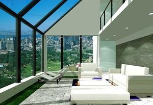 来一场阳光浴:休闲别墅阳光房装修设计效果图