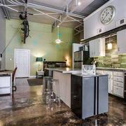 混搭风格厨房整体橱柜装饰