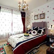 儿童房简约风格背景墙装饰