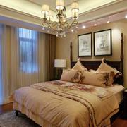 120平米房屋欧式卧室装饰