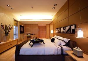 暖色系卧室婚房装饰