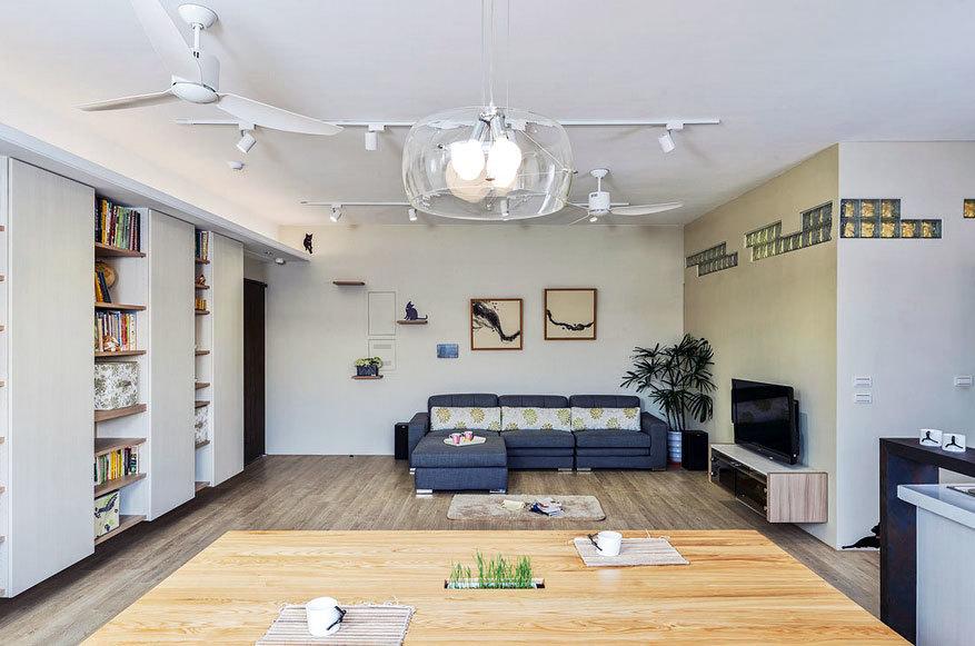 幸福天地:清新质感的北欧风格自住型商品房装修效果图