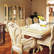 四合院简约风格桌椅装饰