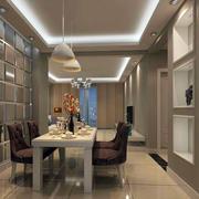 欧式奢华经典餐厅背景墙装饰