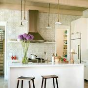 混搭风格开放式厨房装饰