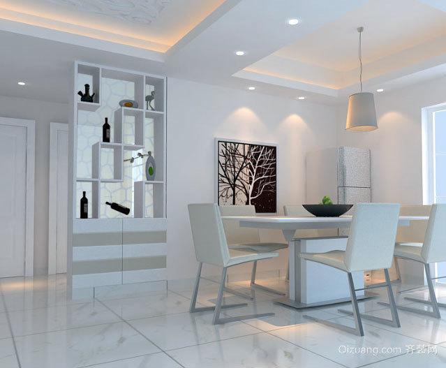 100平米欧式客厅精美酒柜装修效果图