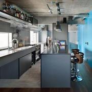 loft风格公寓厨房装饰