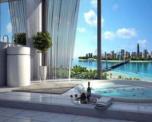 恬淡舒适的三亚海景房设计效果图实例鉴赏