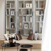 后现代风格别墅整体式书房装饰