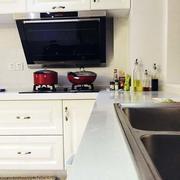 欧式简约风格厨房软装装饰