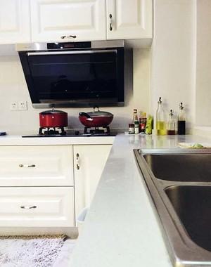 大气易整理美式简约三房变两房室内软装设计效果图