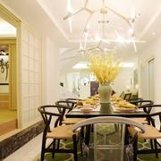 复式楼混搭风格餐厅设计