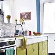 三室一厅简约厨房效果图