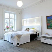 北欧风格简约卧室吊顶