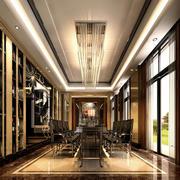 后现代风格别墅餐厅装饰