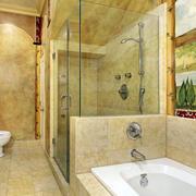 小户型简欧风格浴室装饰