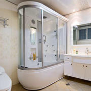 现代简约风格独立卫浴装饰