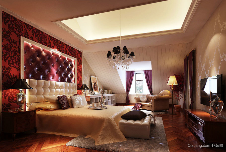 人睡人爱的精美卧室装修效果图