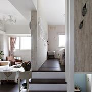 小户型简约风格客厅隔断装饰