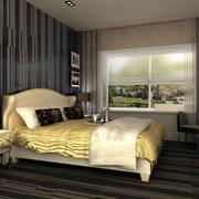 欧式经典奢华酒店卧室装饰
