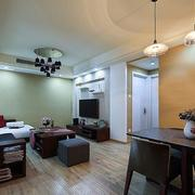 美式客厅沙发装饰