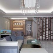 90平米房屋客厅沙发装饰