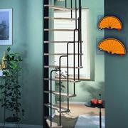 简约风格创意楼梯装饰