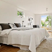 北欧风格简约卧室床头灯饰装饰