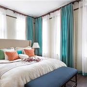 别墅客厅混搭风格卧室效果图