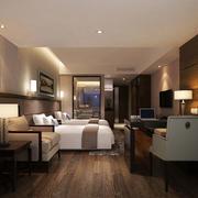 现代简约风格宾馆射灯装饰