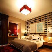 现代简约风格卧室灯饰设计