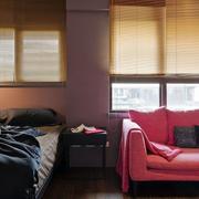 后现代风格公寓卧室书房装饰