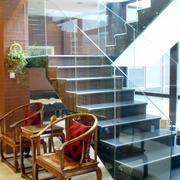 四合院简约风格楼梯装饰