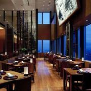 中式复古风格咖啡厅装饰