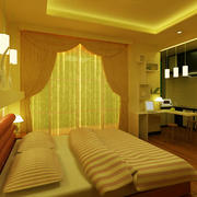 酒店卧室飘窗设计